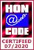 Aderiamo allo standard HONcode per l'affidabilità dell'informazione medica