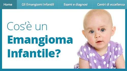 emangioma infantile, <b>Emangioma.net</b>: online un sito dedicato ai genitori